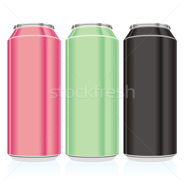 isolated different beer cans Stock photo © PilgrimArtworks