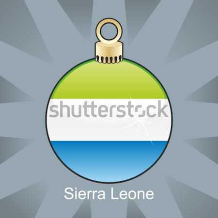 colored christmas bulb with world globe layout Stock photo © PilgrimArtworks