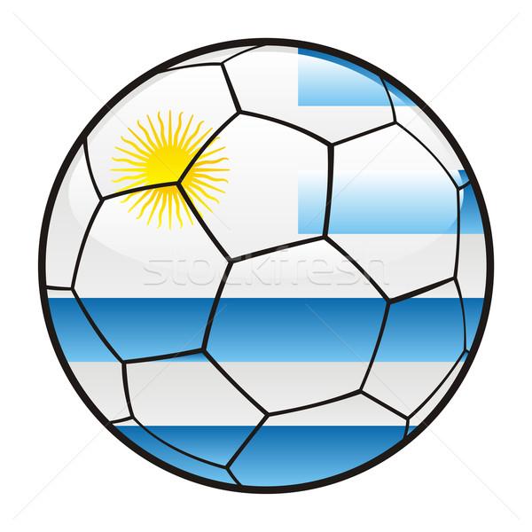 ウルグアイ フラグ サッカーボール サッカー スポーツ ストックフォト © PilgrimArtworks