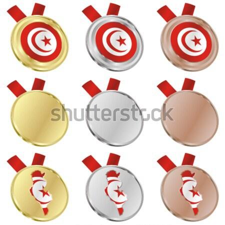 Geïsoleerd medaille object Stockfoto © PilgrimArtworks