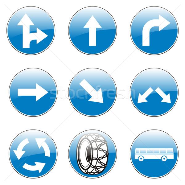 european traffic signs Stock photo © PilgrimArtworks