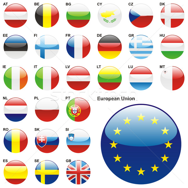 Lid europese unie vorm Stockfoto © PilgrimArtworks