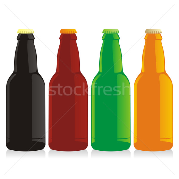 beer bottles Stock photo © PilgrimArtworks