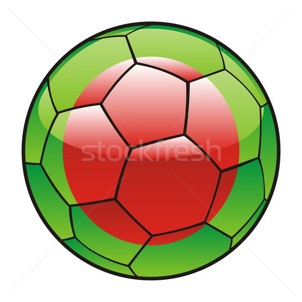 Bangladesh bandeira futebol futebol esportes futebol Foto stock © PilgrimArtworks