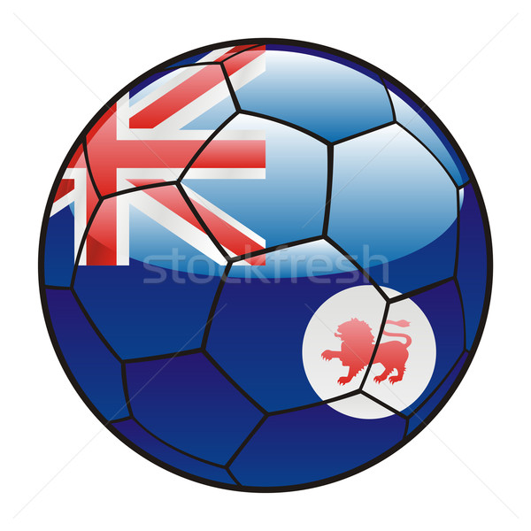 タスマニア州 フラグ サッカーボール サッカー スポーツ サッカー ストックフォト © PilgrimArtworks