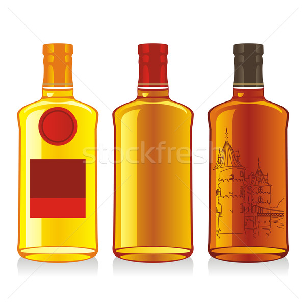whiskey bottles Stock photo © PilgrimArtworks