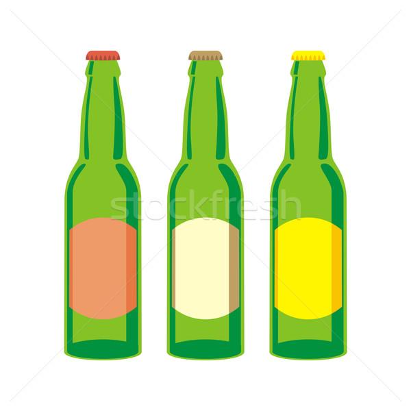 beer bottles Stock photo © PilgrimArtworks