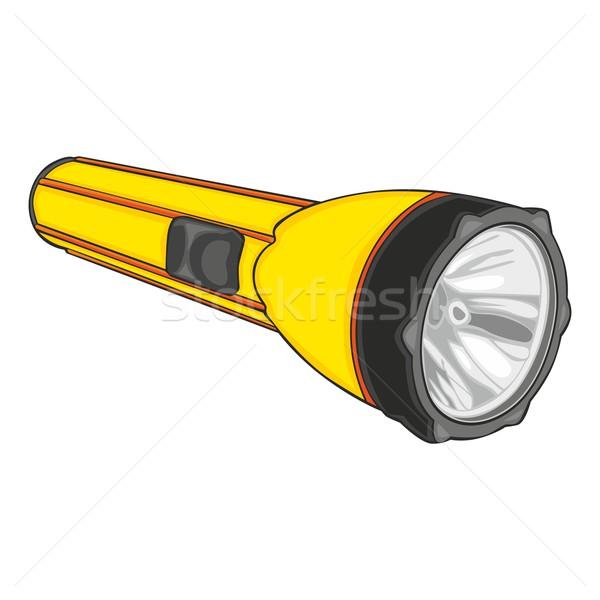 solated flashlight Stock photo © PilgrimArtworks