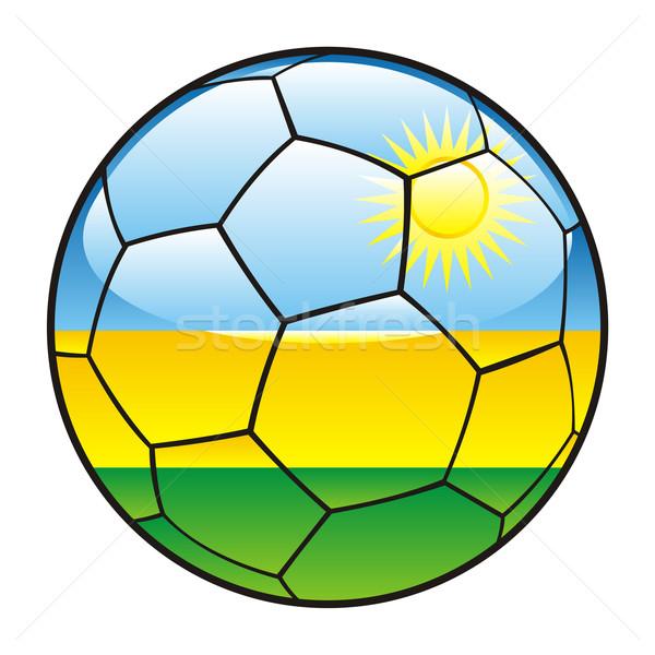 Rwanda pavillon ballon sport football Photo stock © PilgrimArtworks