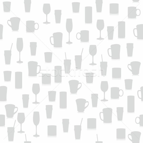 Diferente gafas playa vino Foto stock © PilgrimArtworks