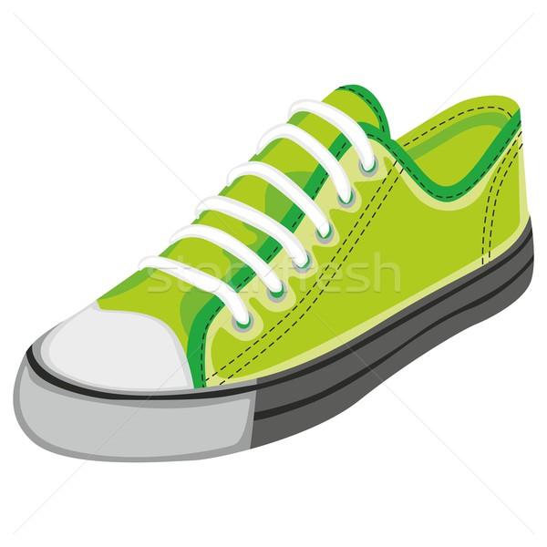 Geïsoleerd schoen mode sport kleding Stockfoto © PilgrimArtworks