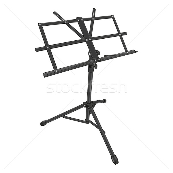 isolated music stand Stock photo © PilgrimArtworks