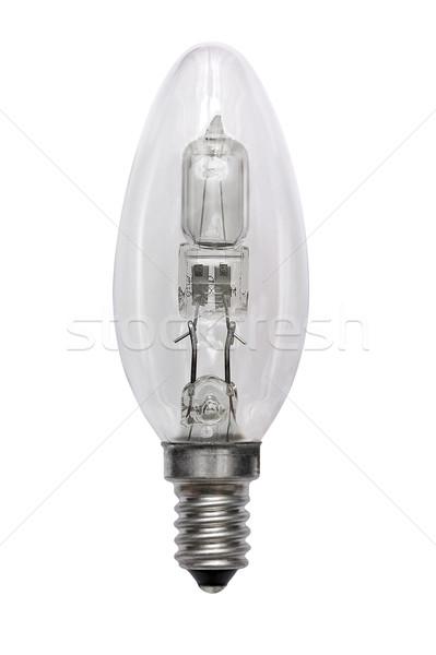 Halogen bulb. Isolated image Stock photo © Pilgrimego