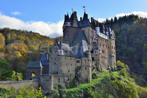 medieval castle Eltz, located on the mountain in Germany Stock photo © Pilgrimego