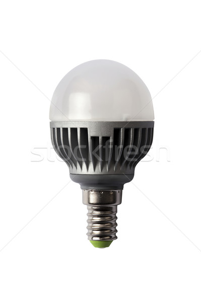 LED energy safing bulb. G45 E14. Isolated object Stock photo © Pilgrimego
