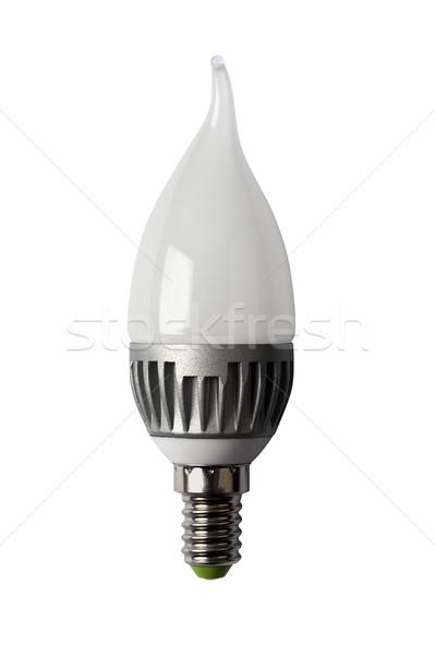 Stockfoto: Energie · lamp · geïsoleerd · object · diode · licht