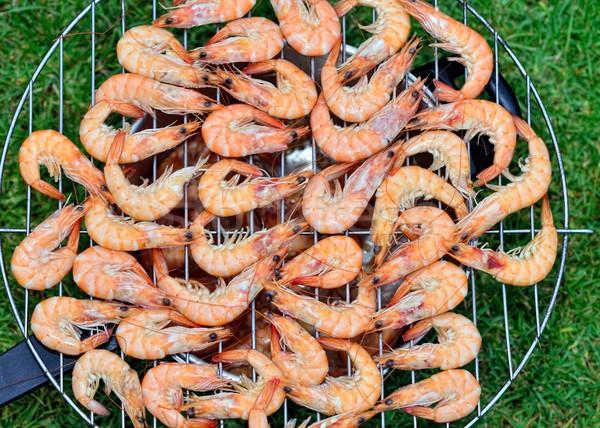 焼き バーベキュー 草 色 食べ 料理 ストックフォト © Pilgrimego