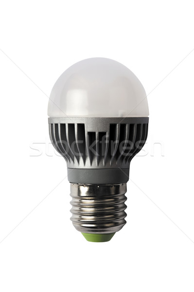 LED energy safing bulb. G45 E27. Isolated object Stock photo © Pilgrimego