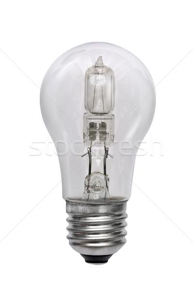 Halogène ampoule isolé image blanche design Photo stock © Pilgrimego