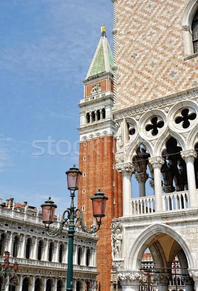 Yard of the Doge's Palace. Stock photo © Pilgrimego