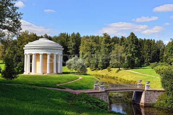 夏 風景 庭園 寺 友情 ロシア ストックフォト © Pilgrimego
