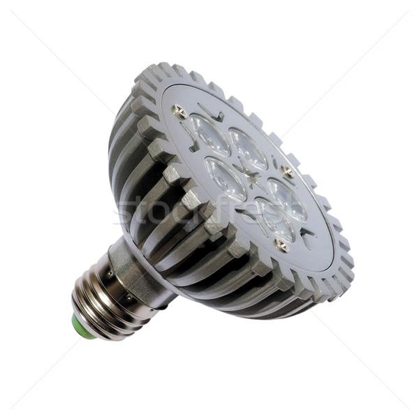 Energia villanykörte izolált tárgy lámpa modern Stock fotó © Pilgrimego
