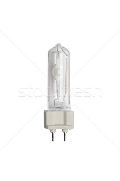 Métal halogène ampoule isolé image blanche Photo stock © Pilgrimego
