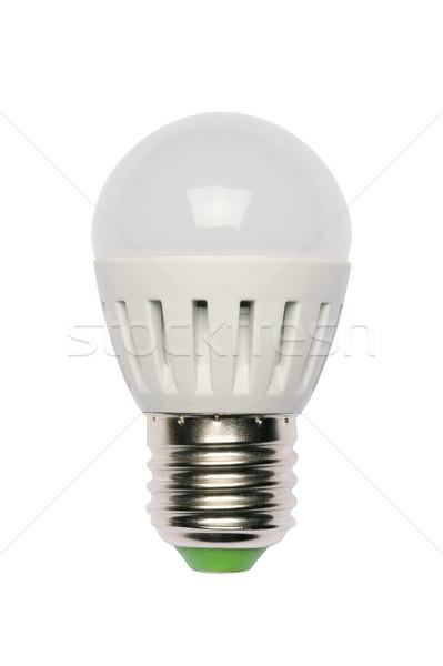 Energia lampadina diodo isolato oggetto Foto d'archivio © Pilgrimego