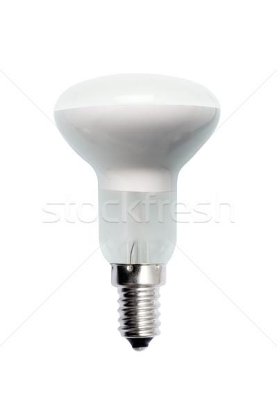 üveg villanykörte izolált kép fehér fény Stock fotó © Pilgrimego