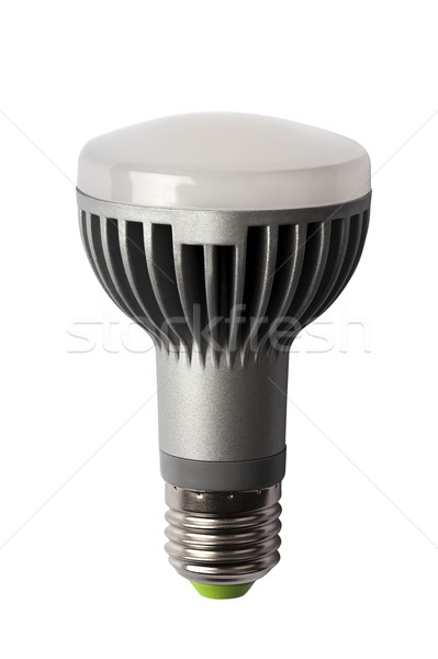 LED energy safing bulb. R63 E27. Isolated object Stock photo © Pilgrimego