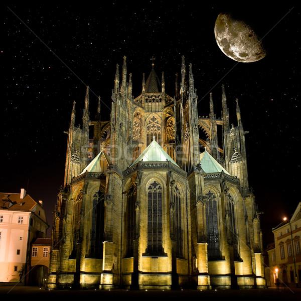 Stock photo: Saint Vitus' Cathedral in Prague