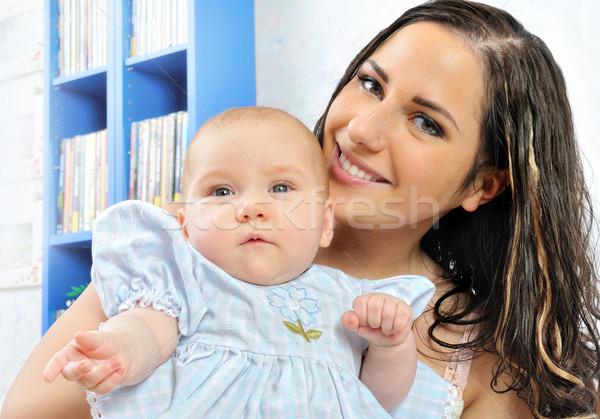 美しい 母親 赤ちゃん 愛 子 ストックフォト © Pilgrimego