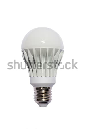 LED energy safing bulb. A60 E27. Isolated object Stock photo © Pilgrimego