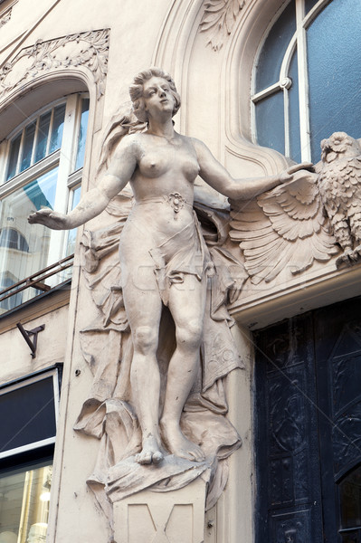bas-relief in Prague Stock photo © Pilgrimego