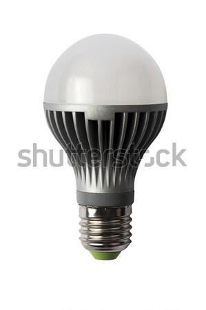 Energia lampadina isolato oggetto diodo luce Foto d'archivio © Pilgrimego