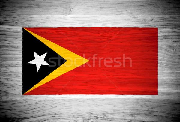 Banderą struktura drewna tekstury ściany charakter ramki Zdjęcia stock © pinkblue