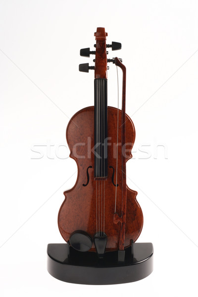 Violin Ornament Upright on Stand Stock photo © pinkblue