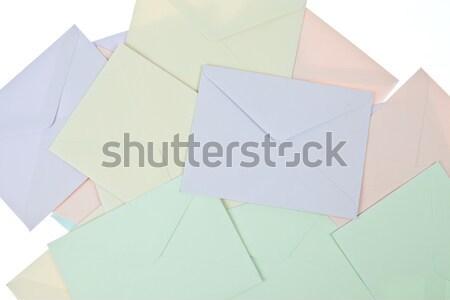 Stock fotó: Színes · háttér · hírek · űr · csoport · ír