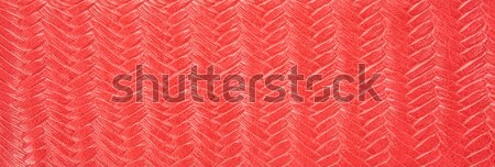 Red leather background Stock photo © pinkblue