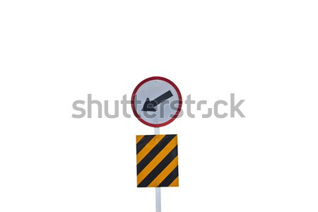 Traffic road sign Stock photo © pinkblue