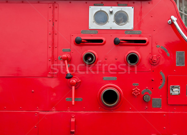 Old vintage fire engine detail Stock photo © pinkblue
