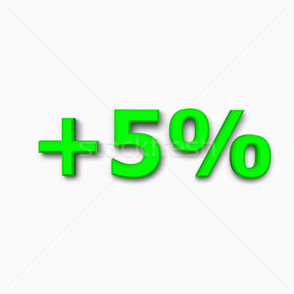 árengedmény ikon fehér meg üzlet pénzügy Stock fotó © pinkblue