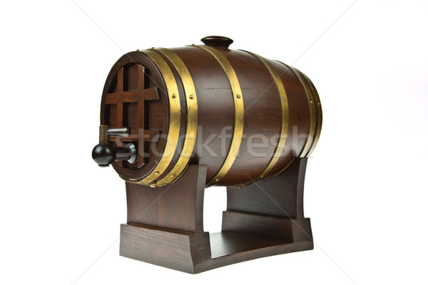 Beer barrel isolated on white background  Stock photo © pinkblue