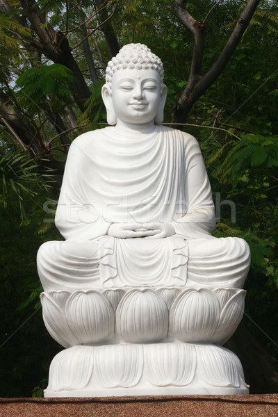 Marble Buddha Statue Stock photo © pinkblue