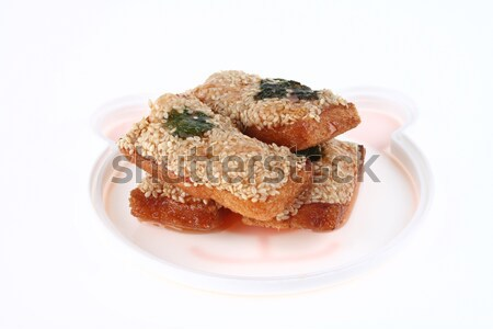 Deep Fried Bread with Shrimp and sesame Stock photo © pinkblue