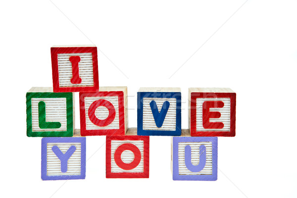 I Love You Stock photo © pinkblue