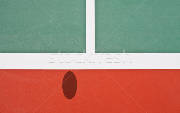 Tennis Court with hawk eye view  Stock photo © pinkblue
