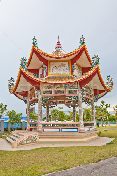 Chinese style pavilion Stock photo © pinkblue