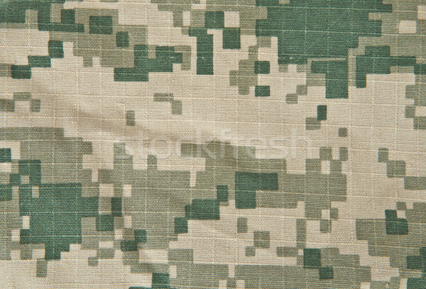 Stock photo: Military camouflage background ACU