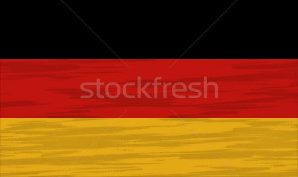 Almanya bayrak pamuk doku dünya arka plan Stok fotoğraf © pinkblue